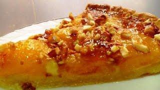 Пирог с абрикосами из Прованса