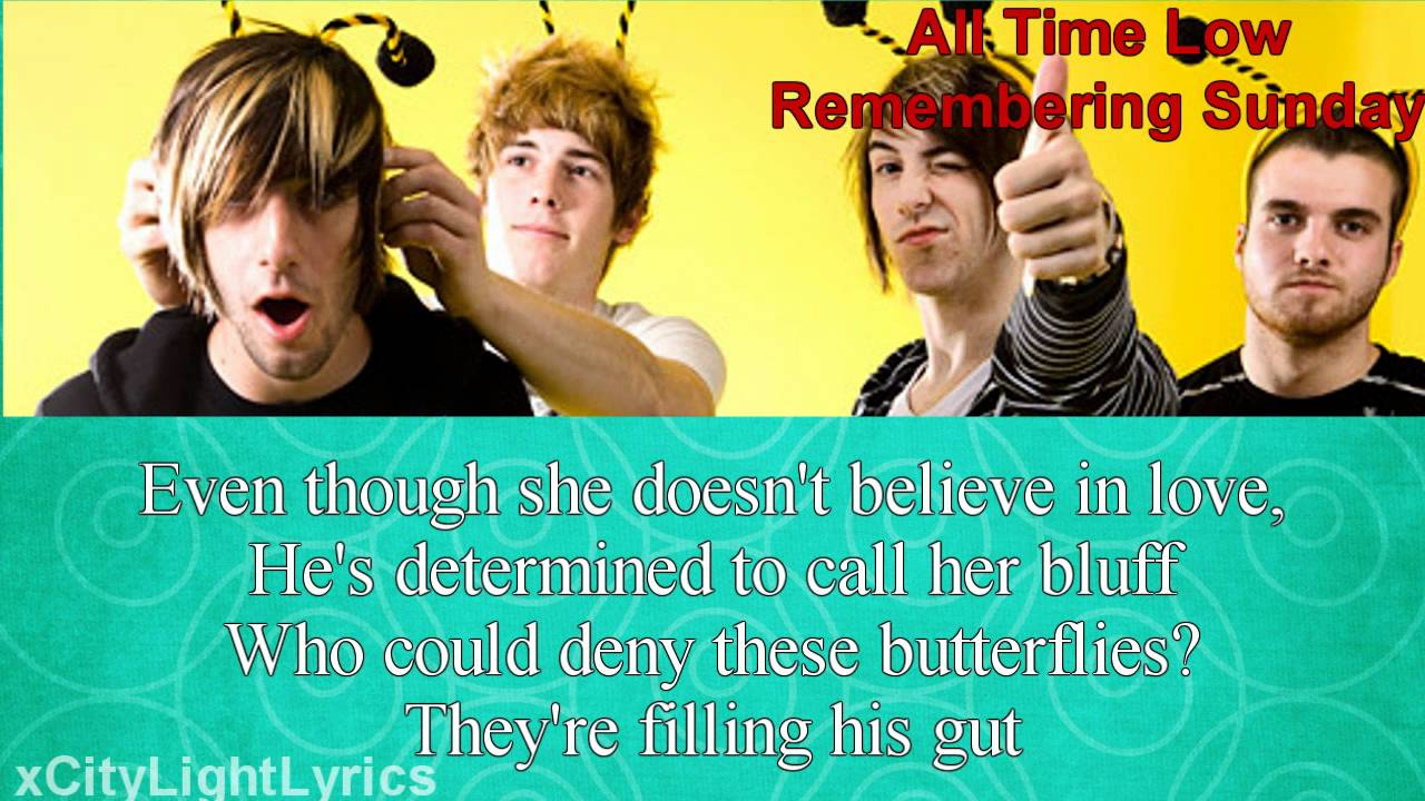All Time Low-Remembering Sunday Lyrics+Download