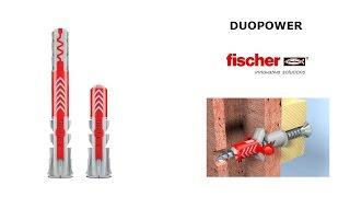 fischer DUOPOWER - двухкомпонентный дюбель