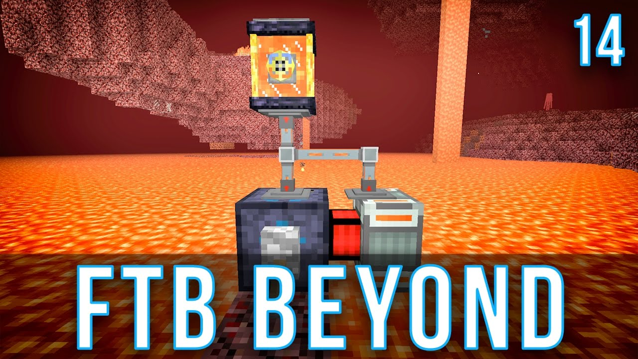 Ranged Pump Setup | FTB Beyond | Episode 14