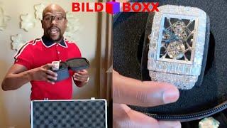 Protz-Boxer Floyd Mayweather zeigt seine Uhren-Sammlung