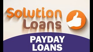 A Video Guide To Payday Loans | How Cash Advances Work | Pros & Cons Of Payday Cash Advances