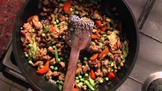 Chicken Friedrice (tamil)