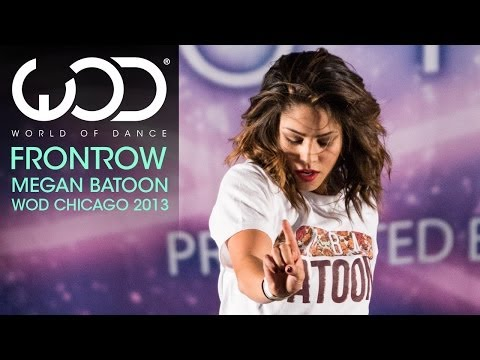 Megan Batoon | World of Dance | FRONTROW | #WODCHI 2013