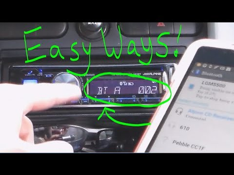 Easy Ways To Connect Phone To Car Stereo Radio Youtube