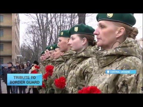 Tribute to Ukraine Border Guard: Kirovohrad street renamed after hero Andriy Matviyenko