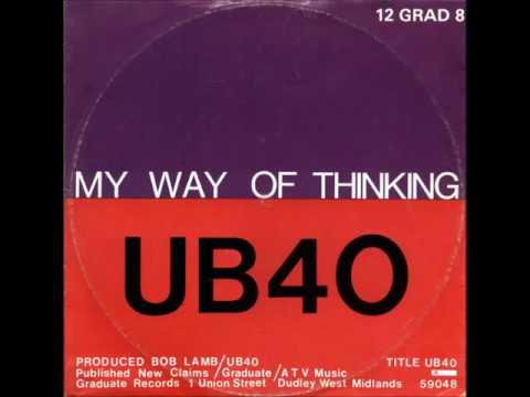 UB40 - My Way of Thinking (12
