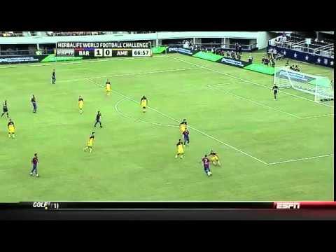 FC Barcelona vs. Club América - 06/08/11 - [2011 WFC - Highlights]