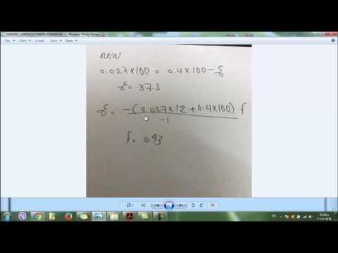 محاضره مبادئ الهندسه الكيمياويه فصل 12 حل امثله 12.3 12.4