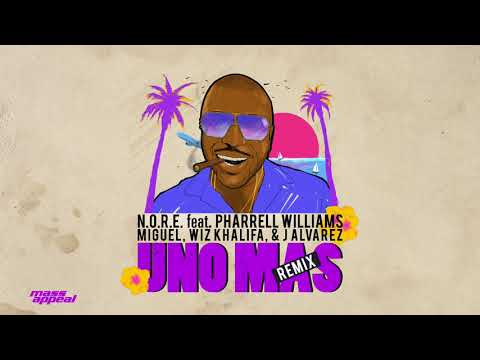N.O.R.E. - Uno Más Remix feat. Pharrell Williams, Miguel, Wiz Khalifa, J Alvarez (Hazardis Sounds)