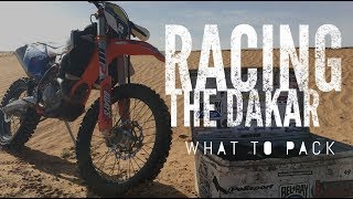 Packing for the Dakar Rally   Essential adventure kit