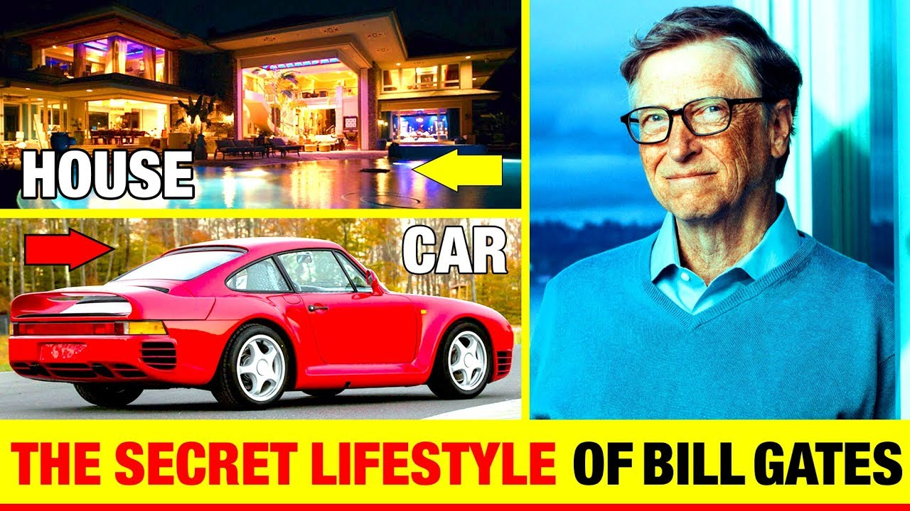 The Secret Lifestyle Of Bill Gates Second Richest Man In The World Cars House Private Jet