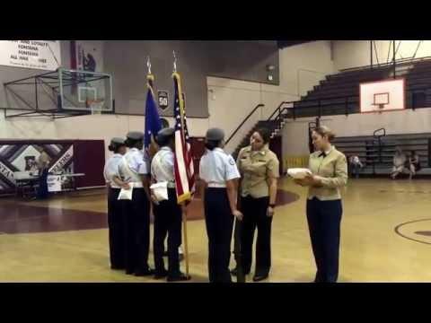Moreno Valley High School CCG at Fontana High School drill meet 2014-2015