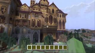 minecraft pe herobrines mansion map download
