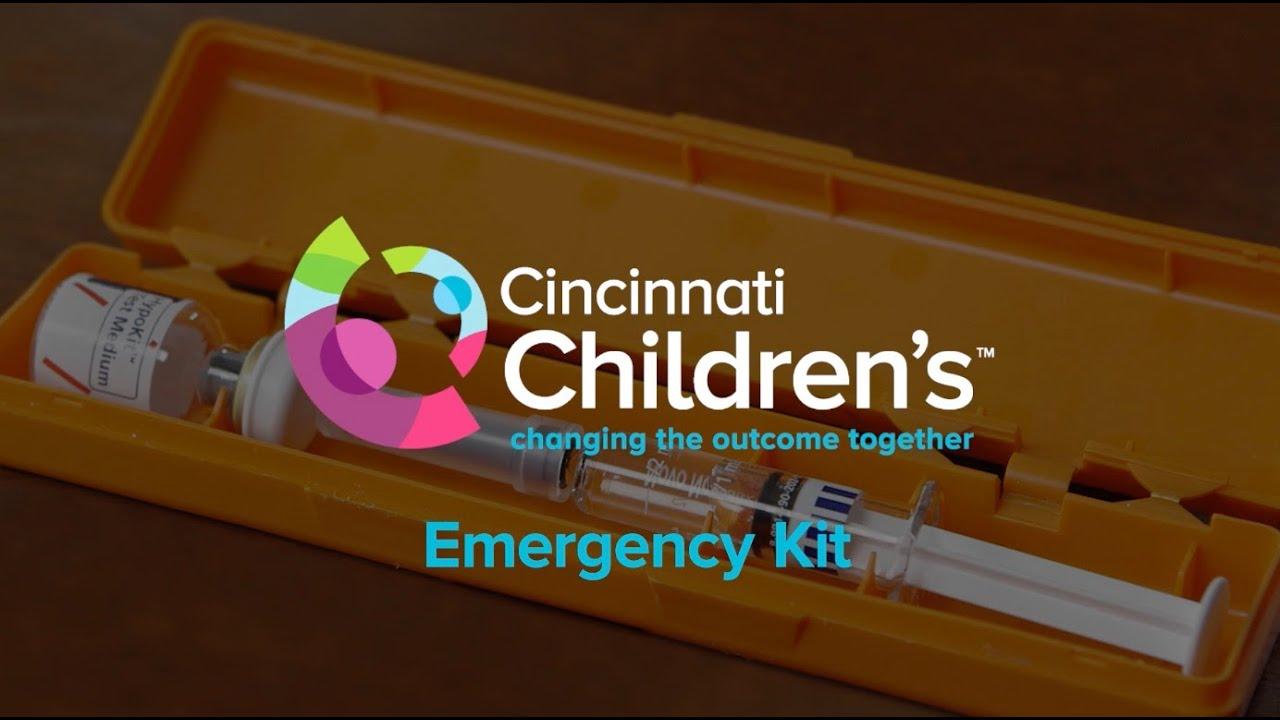 How to Use a Glucagon Emergency Kit | Cincinnati Children's