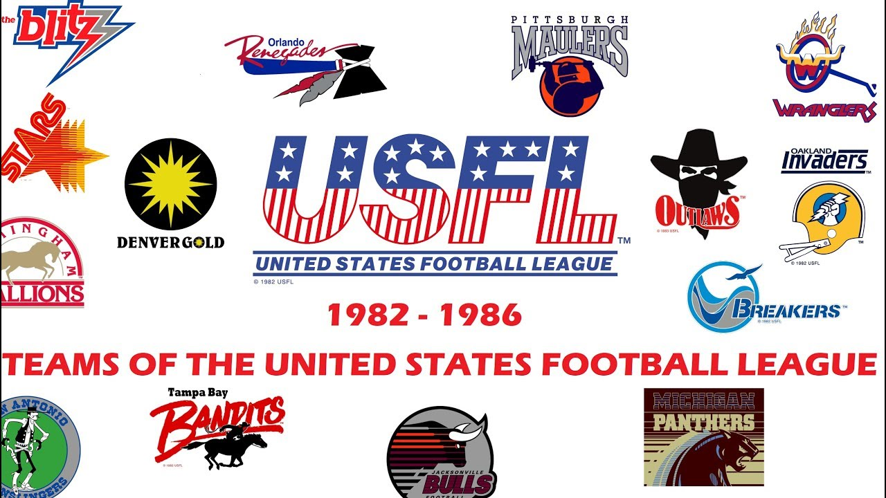 Teams of the United States Football League - YouTube 857de02a2