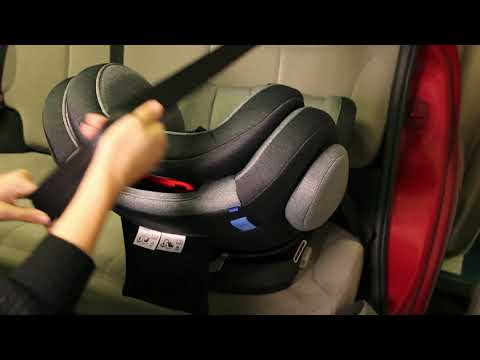 Siège auto ENO 0/1/2/3 - installation dos route avec ceinture