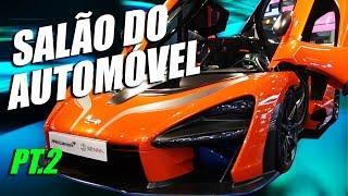 SALÃO DO AUTOMÓVEL 2018 - Subaru WRX, Dodge Hellcat, RAM 2500