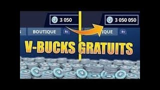 V- BUCKS GRATUIT FORTNITE GLITCH -SERVEUR PRIVÉ FORTNITE