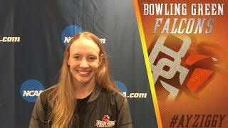 BGSU Diving: Tricia Grant Interview (March 15, 2017)