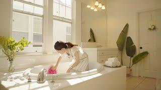 SUB  욕실 청소 10분이면 끝나는 청소 꿀팁 | 욕…