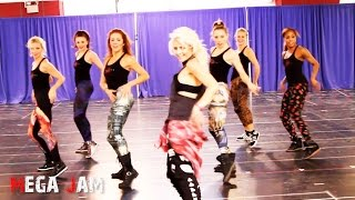 'Uptown Funk' Jasmine Meakin and The Rockettes