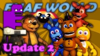 FNAF World Update 2 | Part 3 (END) | ALL CHARACTERS UNLOCKED!