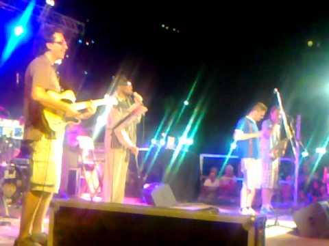 Derrick Morgan live in Casarza Ligure 18th august 2012