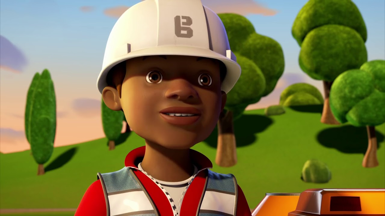 Bob, Der Baumeister Und Die Großen Maschinen