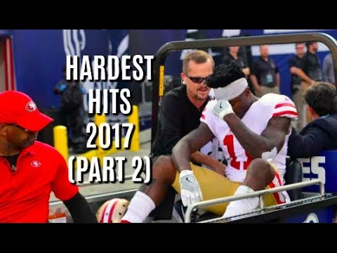 Hardest Hits of 2017-18 NFL/College Football Season (Part 2)
