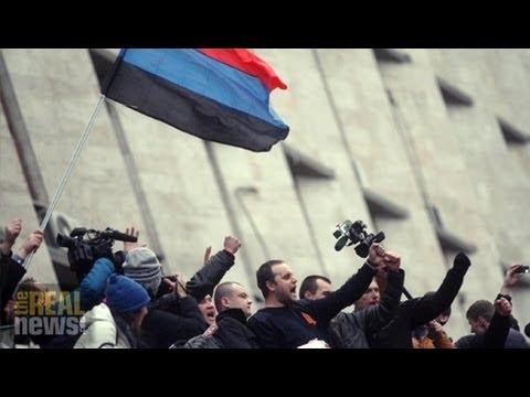 Pro-Russian Protestors Seize Ukrainian Gov. Buildings, But Who Are They?