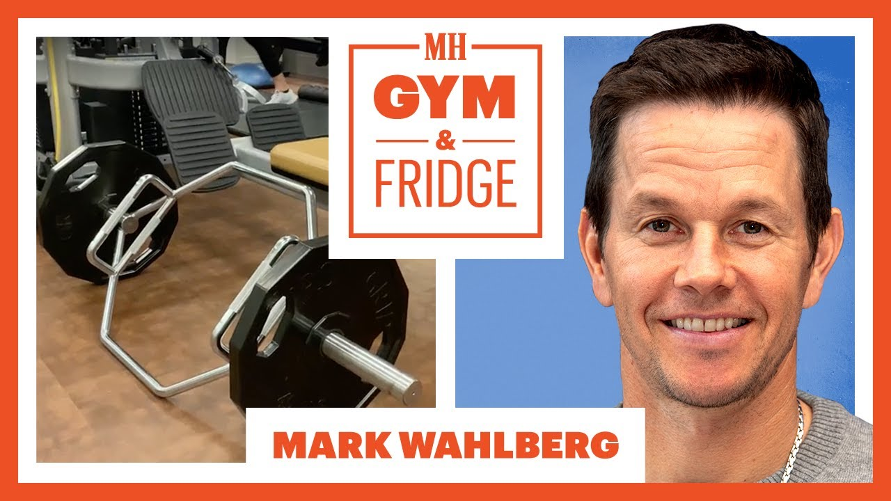 Mark Wahlberg Shows His Home Gym & Fridge | Gym & Fridge | Men's Health
