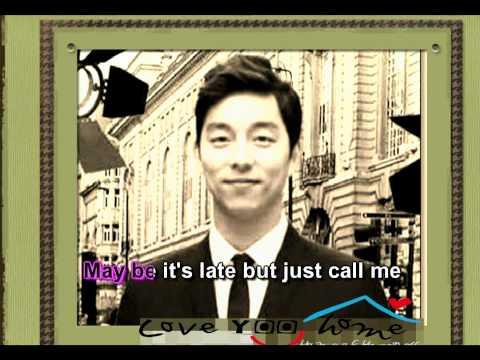 Gong Yoo -Call me. Karaoke
