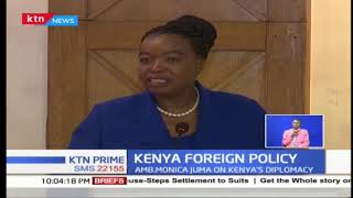 CS Monica Juma assures territorial integrity, as she outlines last quarter achievements