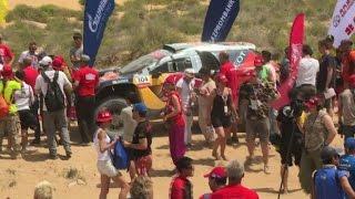 Route de la Soie: victoire de Cyril Despres en auto