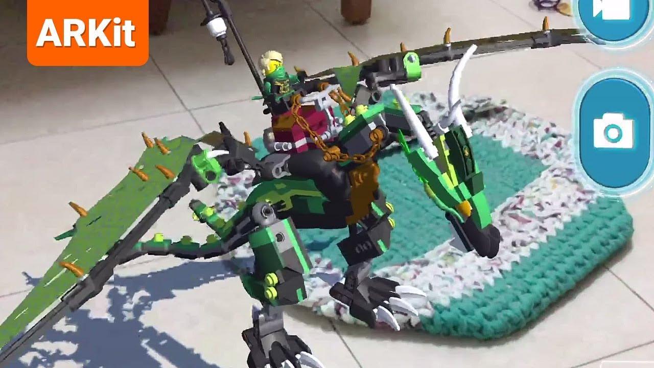 Lego Ar Studio Gameplay Lego In Augmented Reality Youtube