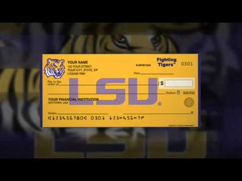 LSU PERSONAL CHECKS - ORDER ONLINE FOR LESS