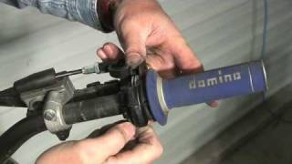How to remove a throttle tube and put it back on