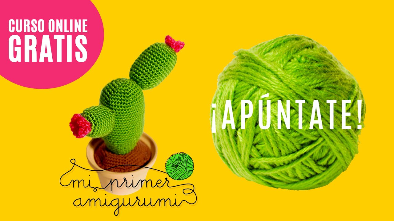 Trailer Curso Online Gratis Mi Primer Amigurumi Tutorial Ganchillo Youtube