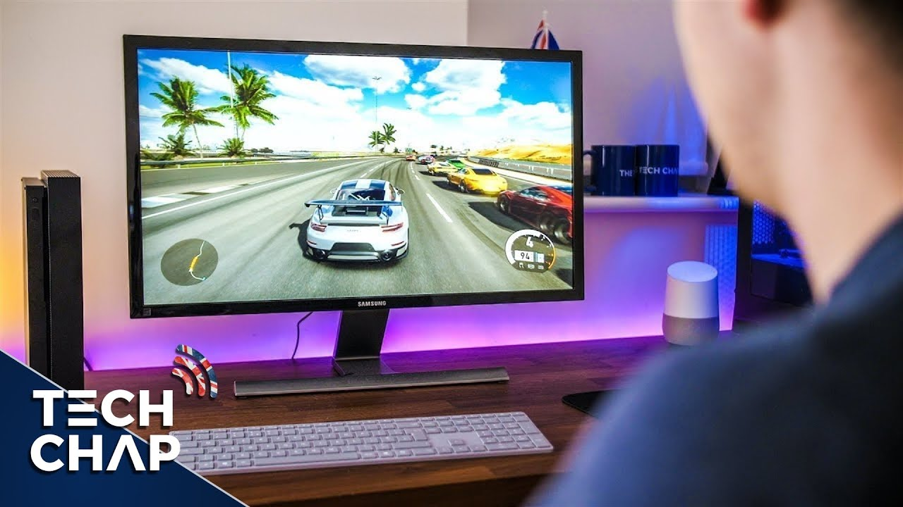 best monitor size for xbox one gaming. Black Bedroom Furniture Sets. Home Design Ideas