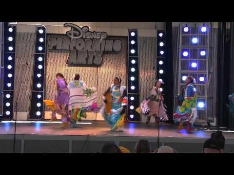 Young Spirit Dancers at DisneyLand