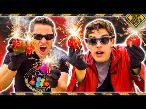 Download Youtube: Mad Science: MARIO Fireballs, In Real Life (With MatPat)