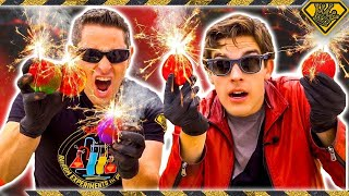 connectYoutube - Mad Science: MARIO Fireballs, In Real Life (With MatPat)
