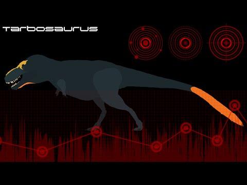 New Tarbosaurus Stk