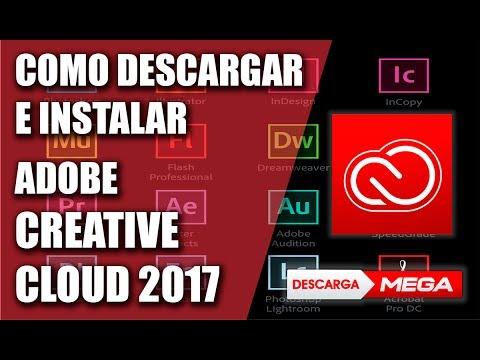 Como Descargar e Instalar Adobe Creative Cloud 2017