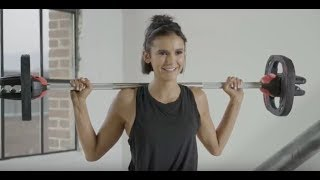 Can Nina Dobrev Ace this Workout Test?
