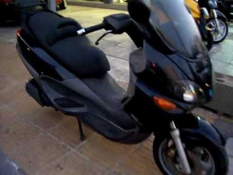 Piaggio X9 180cc,  scooter presentation