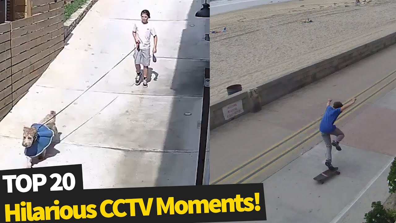 Download 20 Hilarious Moments Caught on Security Cameras