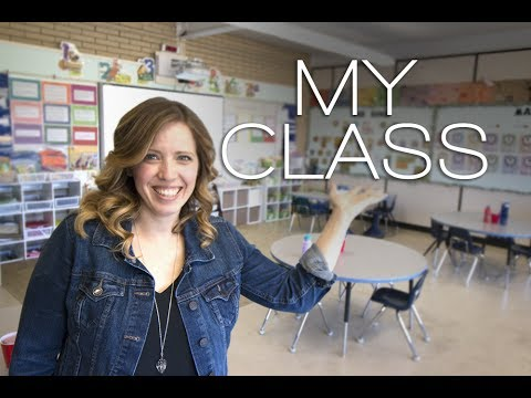 Vlog#13 CLASSROOM TOUR (French  Immersion)