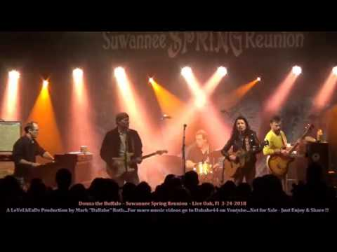 Donna the Buffalo – Suwannee Spring Reunion – Live Oak, Fl  3 24 2018